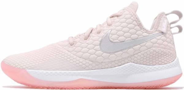 Nike LeBron Witness 3 - Beige Lt Orewood Brn White Desert Sand Med Soft Pink 100 (AO4432100)