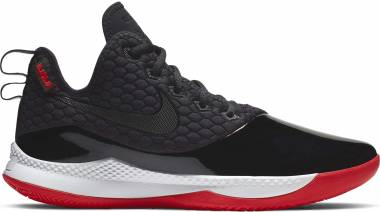 Nike LeBron Witness 3 - Black/White/University Red