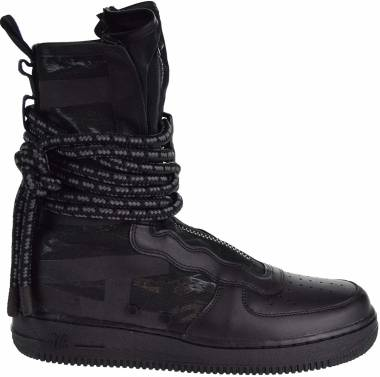 Nike SF Air Force 1 High - BLACK/BLACK-DARK GREY (AA1128002)
