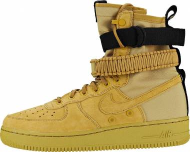 pretty nice d88fb c7699 Nike SF Air Force 1 High Club Gold Club Gold Black Men