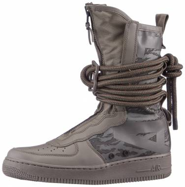 Nike SF Air Force 1 High - Grey (AA1128203)