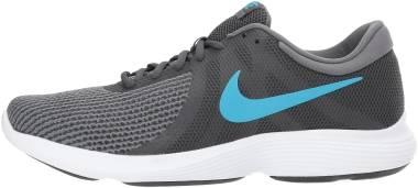 separation shoes aae80 e286f Nike Revolution 4 Anthracite Lt Blue Fury Dk Gry Men