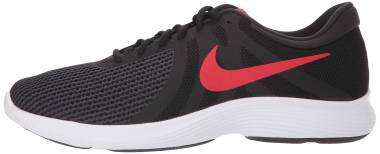 Nike Revolution 4 - Black/University Red - Oil Grey