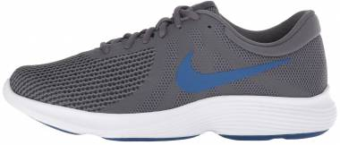 Nike Revolution 4 Dark Grey/Gym Blue - Anthracite Men