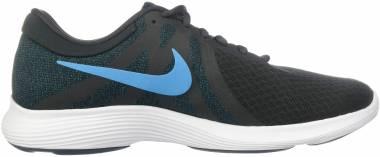 Nike Revolution 4 - Off Noir/Light Current Blue - Blue Force