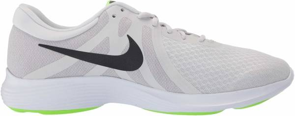Nike Revolution 4 Platinum Tint/Black - Electric Glow