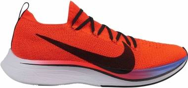 Nike Zoom Vaporfly 4% Flyknit - Bright Crimson/Black-sapphire-white (AJ3857601)