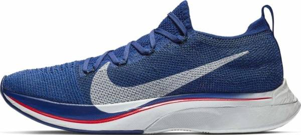 Nike Zoom Vaporfly 4% Flyknit - Deep Royal Blue/Red Orbit/Black/Ghost Aqua