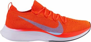 Nike Zoom Vaporfly 4% Flyknit - Bright Crimson/Ice Blue (AJ3857600)