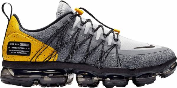 Nike Air VaporMax Run Utility - Multicolore Wolf Grey Black Amarillo Cool Grey 010
