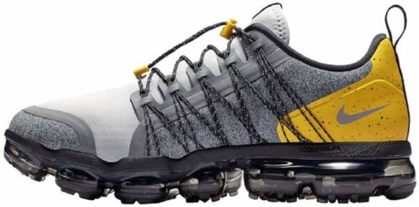 Nike air vapormax run utility shoes dark grey Amarillo black