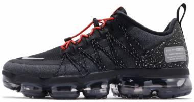 Nike Air VaporMax Run Utility - Negro Black Reflect Silver Anthracite 1 (AQ8810001)