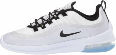 Nike Air Max Axis Premium - White White Black Aluminium Barely Volt 100