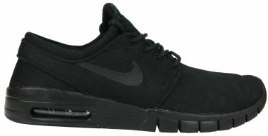 Nike SB Stefan Janoski Max Premium - Black/Black-white-gamma Light Brown
