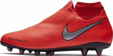 Nike Phantom Vision Pro Dynamic Fit AG-PRO - Rot Bright Crimson Metallic Silver 600 (AO3089600)