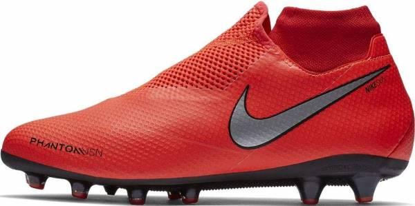 Nike Phantom Vision Pro Dynamic Fit AG-PRO - Bright Crimson Metallic Silver (AO3089600)
