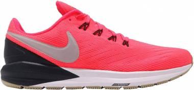 Nike Air Zoom Structure 22 Red Orbit/ Pumice/ Black Men