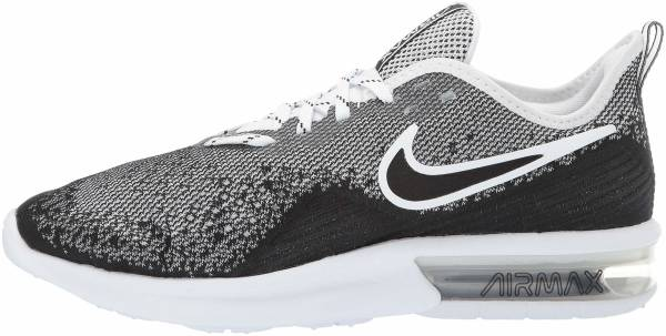 info for b87d7 79e89 Nike Air Max Sequent 4 Black Black White White