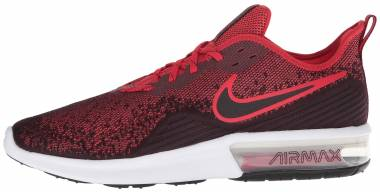 Nike Air Max Sequent 4 - Black University Red 006 (AO4485006)