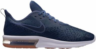 Nike Air Max Sequent 4 - Multicolore Midnight Navy Obsidian Diffused Blue 400 (AO4485400)