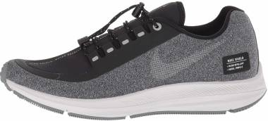 Nike Air Zoom Winflo 5 Run Shield - Multicolore Black Metallic Silver Cool Grey 001 (AO1573001)