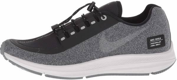 Nike Air Zoom Winflo 5 Run Shield - Multicolore Black Metallic Silver Cool Grey 001 (AO1573001)