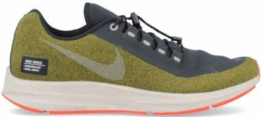 1cf2a02f5ea Nike Air Zoom Winflo 5 Run Shield Olive Flak   Metallic Silver   String Men