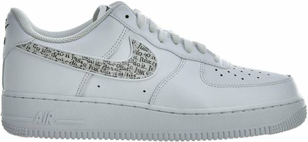 premium selection 6208f e339a Nike Air Force 1 07 LV8 JDI Mehrfarbig (White White Black Total