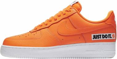 save off 2a05c 4ed1c Nike Air Force 1 07 LV8 JDI Mehrfarbig (Total Orange Total Orange White