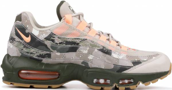 sports shoes 14445 f89b0 Nike Air Max 95 Essential Camo desert sand, sunset tint-black
