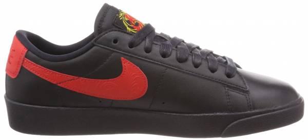Nike Blazer Low Floral Black / University Red