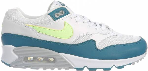 Nike Air Max 90/1 Multicolore (White/Lime Blast/Wolf Grey/Geode Teal 001)