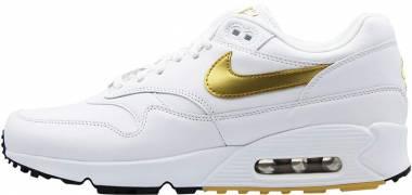 Nike Air Max 90/1 Multicolore (White/Metallic Gold/Black 001) Men