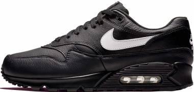 Nike Air Max 90/1 - white, lime blast- wolf grey (AJ7695001)