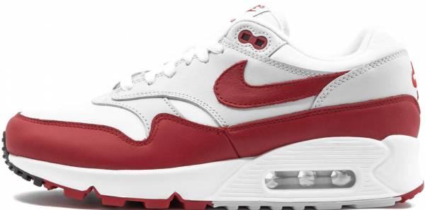 Nike Air Max 90/1 White, University Red