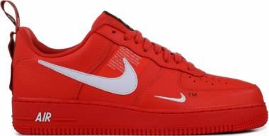 Nike Air Force 1 07 LV8 Utility - Red (AJ7747800)