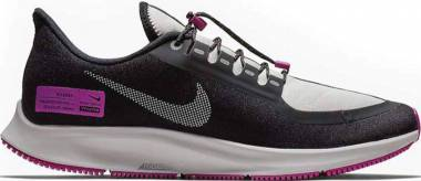 Nike Air Zoom Pegasus 35 Shield - Black/Reflect Silver/Purple