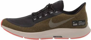 Nike Air Zoom Pegasus 35 Shield - Olive/Black/Silver (AA1643300)