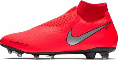 Nike Phantom VSN Pro Dynamic Fit Firm Ground - Bright Crimson Metallic Silver (AO3266600)