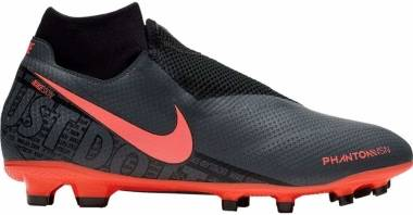 Nike Phantom VSN Pro Dynamic Fit Firm Ground - Dark Grey/Black/Bright Mango (AO3266080)