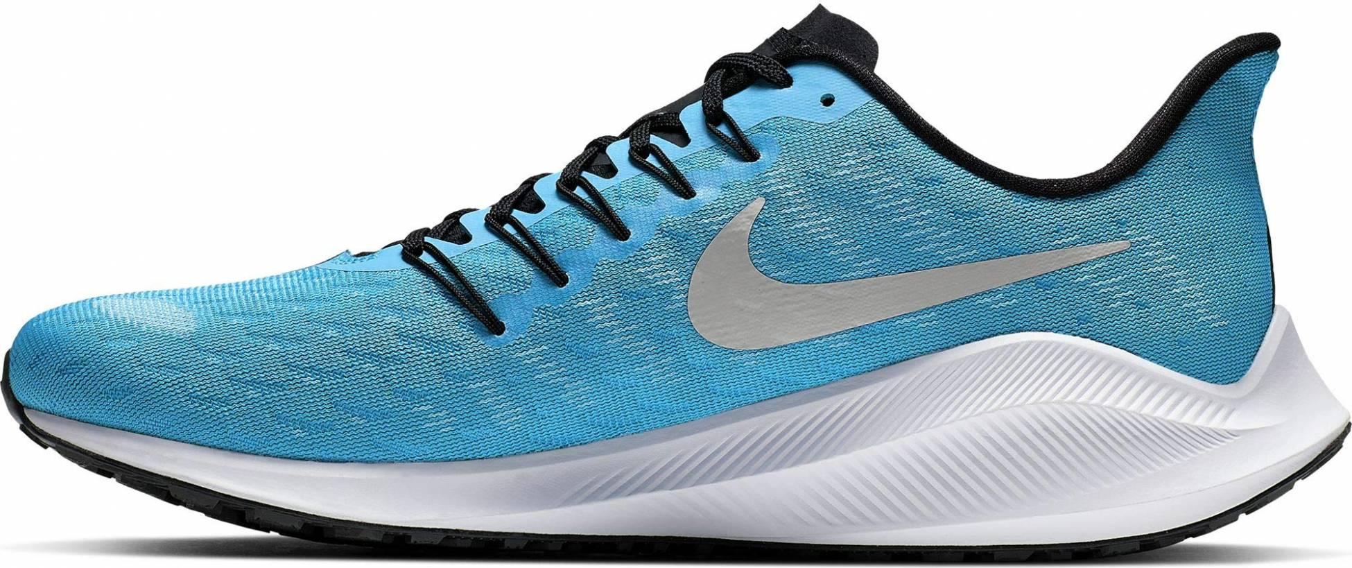 nike na blue running shoes