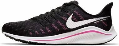 Nike Air Zoom Vomero 14 - Black / Platinum Tint / Pink Blast