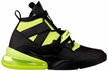 Nike Air Force 270 Utility - Black/Volt (AQ0572001)