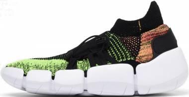 Nike Footscape Flyknit DM - Multicolore Black Black Volt Bright Mango 001 (AO2611004)