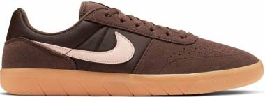 Nike SB Team Classic - Baroque Brown/Washed Coral-gum Yellow (AH3360204)