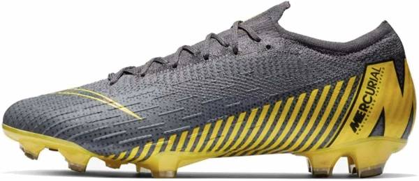 Nike Mercurial Vapor 12 Elite Firm Ground - grau (AH7380070)