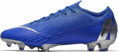 Nike Mercurial Vapor 12 Elite Firm Ground Blå Men