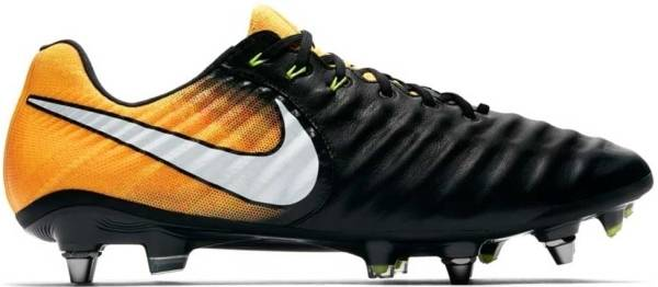 Nike Tiempo Legend VII Pro Soft Ground - Black Orange (897753008)