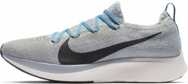 Nike Zoom Fly Flyknit - Gray (AR4561004)