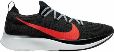 Nike Zoom Fly Flyknit - Black/Bright Crimson-obsidian Mist (AR4561005)